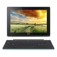 "Acer Aspire Switch 10 E SW3-013-13XB 1.33GHz Z3735F 10.1"" 1280 x 800Pixel Touch screen Nero, Ciano Ibrido (2 in 1)"