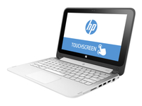 "HP 11-p101la 2.16GHz N2840 11.6"" 1366 x 768Pixel Touch screen Nero, Bianco Ibrido (2 in 1)"