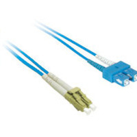 C2G 10m LC/SC Plenum-Rated 9/125 Duplex Single-Mode Fiber Patch Cable 10m Blu cavo a fibre ottiche