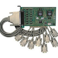 C2G Lava Octopus 16550 DB9 Serial Card PCI 8-Port scheda di interfaccia e adattatore
