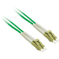 C2G 10m LC/LC Plenum-Rated 9/125 Duplex Single-Mode Fiber Patch Cable 10m Verde cavo a fibre ottiche