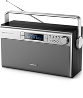 Philips AE5220B/12 Portatile Digitale Nero, Metallico radio