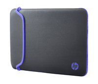 HP 14 Gray/Purple Neoprene Sleeve