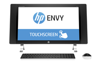 "HP ENVY 27-p079na 2.8GHz i7-6700T 27"" 2560 x 1440Pixel Touch screen Perlato, Bianco PC All-in-one"