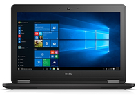 "DELL Latitude E7270 2.4GHz i5-6300U 12.5"" 1920 x 1080Pixel Touch screen Nero Computer portatile"