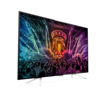 "Philips 6800 series 55PUT6801/98 55"" 4K Ultra HD Smart TV Wi-Fi Nero, Argento LED TV"