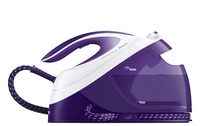 Philips GC8721/30 1.8L SteamGlide Plus Viola, Bianco ferro da stiro a caldaia
