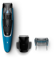 Philips BEARDTRIMMER Series 7000 BT7203/15 Nero, Blu regolabarba