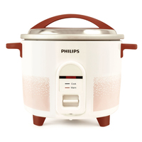 Philips Daily Collection HL1663/00 Rosso, Bianco cuoci riso