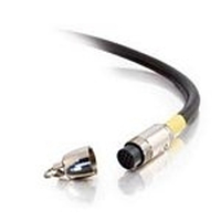 C2G 3m RapidRun PC/Video (UXGA) Runner Cable - CL2-Rated 3m Giallo cavo coassiale