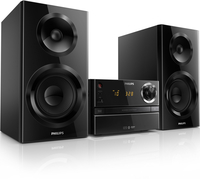 Philips BTM2355/77 Home audio micro system 60W Nero set audio da casa