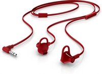 HP Earbuds Red Headset 150