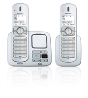 Philips Perfect sound CD5652S/38 Telefono DECT Argento telefono