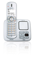 Philips Perfect sound CD5651S/38 Telefono DECT Identificatore di chiamata Argento telefono