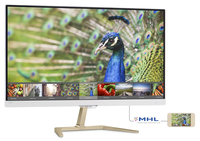 "Philips 276E7QDSH6/93 27"" Full HD IPS Lucida Oro, Bianco monitor piatto per PC"