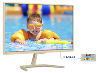 "Philips 276E7QDSH/93 27"" Full HD PLS Lucida Oro, Argento, Bianco monitor piatto per PC"
