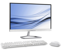 "Philips A222C6WHW/93 2.16GHz N3540 21.5"" 1920 x 1080Pixel Bianco PC All-in-one All-in-One PC"