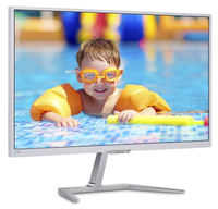 "Philips 276E7QSA/93 27"" Full HD PLS Lucida Bianco monitor piatto per PC"