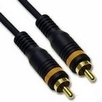 C2G 15m Velocity RCA-Type Video Cable 15m RCA RCA Nero cavo coassiale