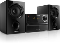 Philips BTM1360/05 Home audio micro system 30W Nero set audio da casa
