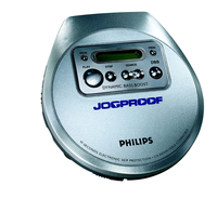 Philips AX2301/05Z Portable CD player Metallico CD player