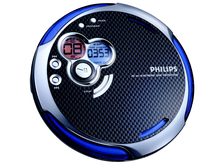 Philips AX5303/05Z Portable CD player Nero, Blu CD player