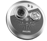 Philips AX3303/05Z Portable CD player Argento CD player