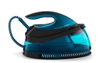 Philips GC7833/80 2400W 1.5L SteamGlide Plus Nero, Blu ferro da stiro a caldaia