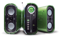 Philips MZ-1000/22 Home audio micro system 120W Verde set audio da casa