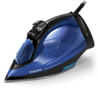 Philips PerfectCare GC3920/26 Ferro a vapore SteamGlide Plus 2500W Nero, Blu ferro da stiro