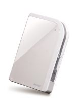 Buffalo 320GB MiniStation 320GB Bianco disco rigido esterno