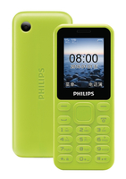 "Philips CTE105YL/93 1.77"" 71.2g Giallo cellulare"