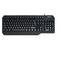 Philips SPK6202B/93 USB QWERTY Nero tastiera