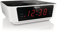 Philips AJ3115/77 Orologio Digitale Nero, Argento radio