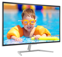 "Philips E Line 323E7QDAA/00 31.5"" Full HD IPS Opaco Alluminio, Bianco monitor piatto per PC"