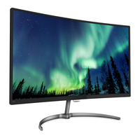 "Philips E Line 328E8QJAB5/75 31.5"" Full HD VA monitor piatto per PC"