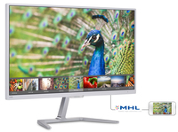 "Philips E Line 246E7QDSW/61 23.6"" Full HD IPS Lucida Bianco monitor piatto per PC"