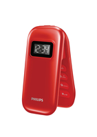 "Philips CTE321RD/93 2.4"" Rosso cellulare"