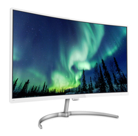 "Philips E Line 278E8QJAW/61 27"" Full HD VA Lucida Bianco monitor piatto per PC"