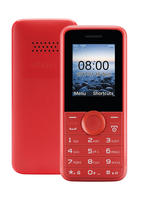 "Philips CTE106RD/58 1.77"" Rosso cellulare"