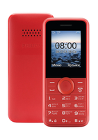 "Philips CTE106RD/00 1.77"" Rosso cellulare"