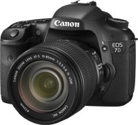 Canon EOS 7D + EF-S 15-85mm f/3.5-5.6 IS USM Kit fotocamere SLR 18MP CMOS 5184 x 3456Pixel Nero