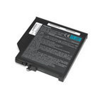 Toshiba Seconda Batteria Slim SelectBay aglio ioni di litio, 6 celle, 3600mAh - nero