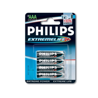 Philips ExtremeLife Batteria LR03-P4/12B