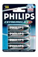 Philips ExtremeLife Batteria LR6-P4/12B