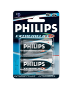 Philips ExtremeLife Batteria LR20-P2/12B