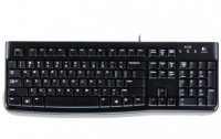 Logitech K120, US USB QWERTY International EER Nero tastiera