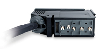 APC IT Power Distribution Module 3x1 Pole 3 Wire 20A 240V IEC309 1680cm 1680cm 1680cm 3AC outlet(s) Grigio unità di distribuzione dell