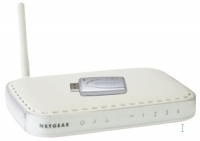Netgear DGB111G Fast Ethernet Bianco router wireless