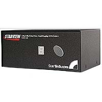 StarTech.com 2 Port StarView KVM Switch-Dual Display switch per keyboard-video-mouse (kvm)